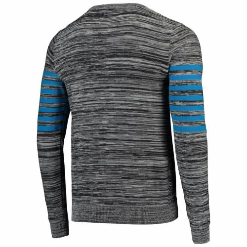 FOCO デトロイト ライオンズ ニット ヘンリー スリーブ Tシャツ 灰色 グレー グレイ メンズファッション トップス カットソー メンズ 【 Detroit Lions Marled Knit Henley Long Sleeve T-shirt - Gray 】 Gra