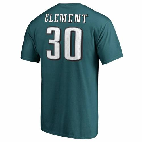 NFL PRO LINE BY FANATICS BRANDED フィラデルフィア イーグルス プロ オーセンティック Tシャツ & 【 COREY CLEMENT PHILADELPHIA EAGLES AUTHENTIC STACK NAME NUMBER TSHIRT MIDNIGHT GREEN 】 メンズファッション トッ