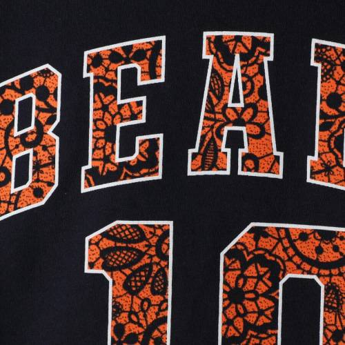 OUTERSTUFF シカゴ ベアーズ 子供用 Tシャツ 紺 ネイビー キッズ ベビー マタニティ トップス ジュニア 【 Mitchell Trubisky Chicago Bears Girls Youth Dolman Lace Player Name And Number T-shirt - Navy 】 Navy