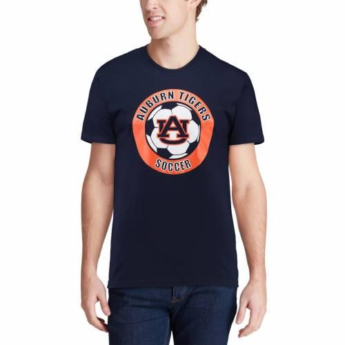 ORIGINAL RETRO BRAND タイガース サッカー Tシャツ 紺 ネイビー メンズファッション トップス カットソー メンズ 【 Auburn Tigers Soccer Pride T-shirt - Navy 】 Navy