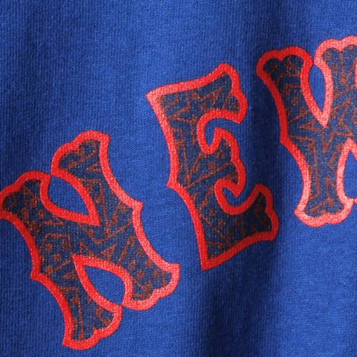 マジェスティック MAJESTIC メッツ Tシャツ メンズファッション トップス カットソー メンズ 【 Noah Syndergaard New York Mets Stars And Stripes Name And Number T-shirt - Royal 】 Royal