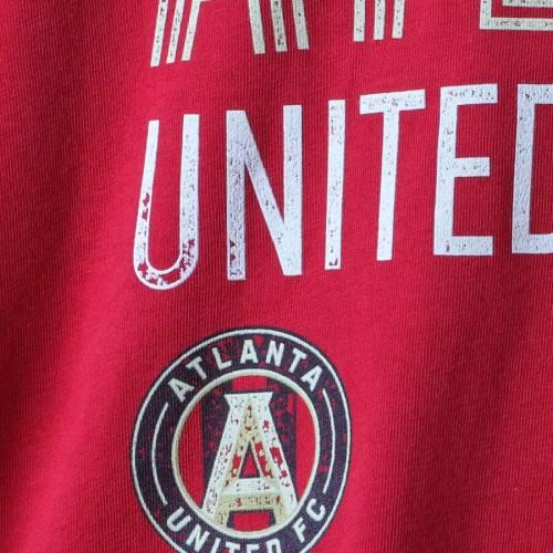 アディダス ADIDAS アトランタ Tシャツ 【 ATLANTA UNITED FC TRILINE LOCALE TSHIRT RED 】 メンズファッション トップス カットソー 送料無料