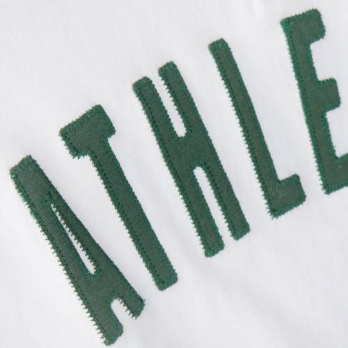 OUTERSTUFF オークランド 子供用 ゲーム ジャージ Tシャツ キッズ ベビー マタニティ トップス ジュニア 【 Oakland Athletics Youth Game Day Jersey T-shirt - White/green 】 White/green