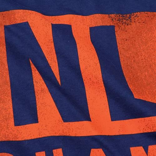 ナイキ NIKE メッツ Tシャツ 【 NEW YORK METS 2015 NATIONAL LEAGUE CHAMPIONS PENNANT TSHIRT ROYAL 】 メンズファッション トップス カットソー 送料無料