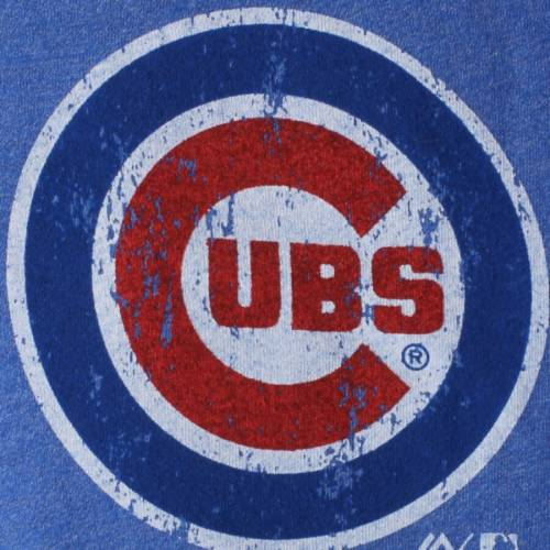 MAJESTIC THREADS ブライアント シカゴ カブス ラグラン Tシャツ メンズファッション トップス カットソー メンズ 【 Kris Bryant Chicago Cubs Tri-blend 3/4-sleeve Raglan Name And Number T-shirt - Royal 】 Royal