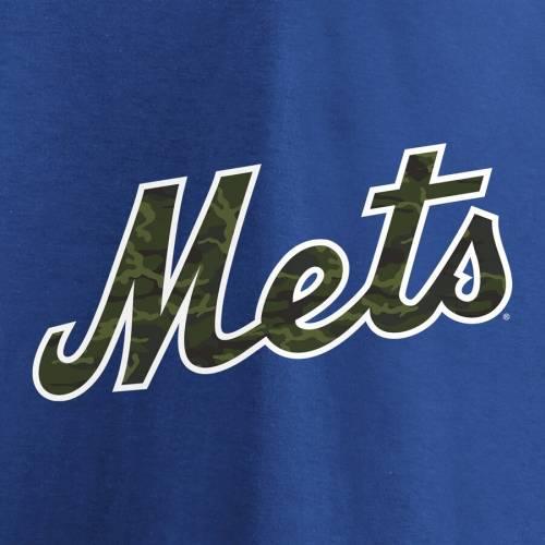 マジェスティック MAJESTIC メッツ Tシャツ & 【 JACOB DEGROM NEW YORK METS NAME NUMBER TSHIRT CAMO BLUE 】 メンズファッション トップス カットソー 送料無料