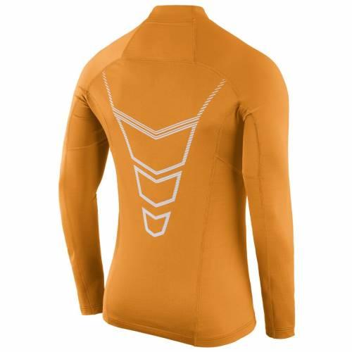 ナイキ NIKE テネシー ハイパーウオーム スリーブ Tシャツ 橙 オレンジ メンズファッション トップス カットソー メンズ 【 Tennessee Volunteers Player Hyperwarm Long Sleeve T-shirt - Tennessee Orange 】 Te