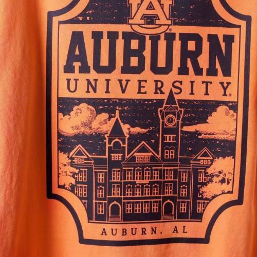 IMAGE ONE タイガース キャンパス アイコン Tシャツ 橙 オレンジ メンズファッション トップス カットソー メンズ 【 Auburn Tigers Comfort Colors Campus Icon T-shirt - Orange 】 Orange