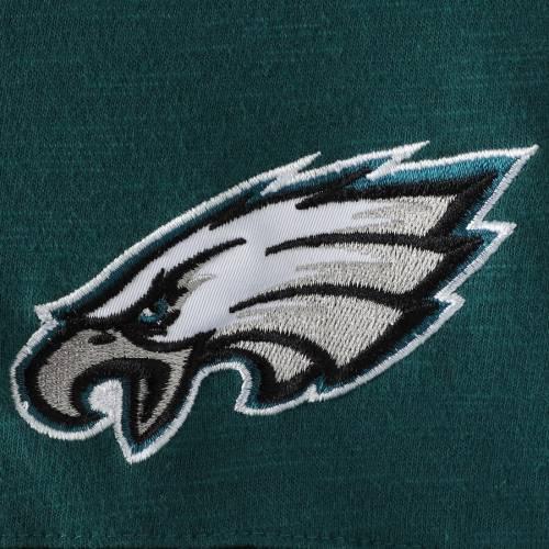 HANDS HIGH フィラデルフィア イーグルス ゲーム スリーブ Tシャツ 緑 グリーン メンズファッション トップス カットソー メンズ 【 Philadelphia Eagles Game On Sueded Slub Long Sleeve T-shirt - Midnight Gre