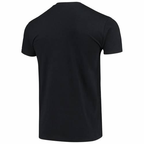 MERCH TRAFFIC ミネソタ ツインズ ベースボール Tシャツ 黒 ブラック メンズファッション トップス カットソー メンズ 【 Minnesota Twins Naughty By Nature Baseball T-shirt - Black 】 Black