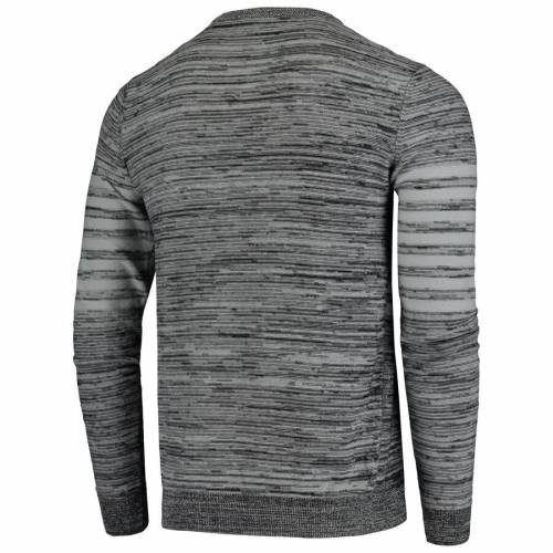 FOCO レイダース ニット ヘンリー スリーブ Tシャツ 灰色 グレー グレイ メンズファッション トップス カットソー メンズ 【 Las Vegas Raiders Marled Knit Henley Long Sleeve T-shirt - Gray 】 Gray