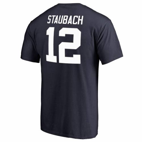 NFL PRO LINE BY FANATICS BRANDED プロ ダラス カウボーイズ オーセンティック Tシャツ 紺 ネイビー & 【 NFL NAVY PRO LINE BY FANATICS BRANDED ROGER STAUBACH DALLAS COWBOYS RETIRED PLAYER AUTHENTIC STACK NAME NUMBER TSHIR