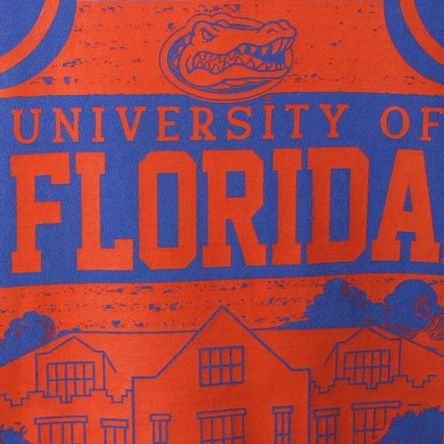 IMAGE ONE フロリダ キャンパス アイコン Tシャツ 【 IMAGE ONE FLORIDA GATORS COMFORT COLORS CAMPUS ICON TSHIRT ROYAL 】 メンズファッション トップス Tシャツ カットソー