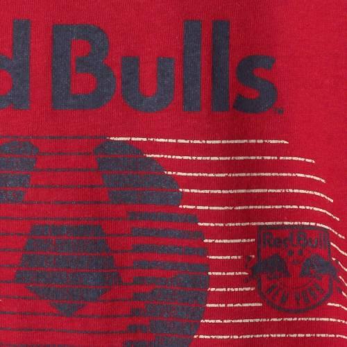 アディダス ADIDAS 赤 レッド ブルズ サッカー Tシャツ 【 RED SOCCER ADIDAS NEW YORK BULLS WORLD TRIBLEND TSHIRT 】 メンズファッション トップス Tシャツ カットソー
