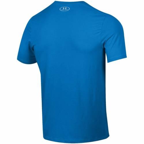 アンダーアーマー UNDER ARMOUR サイドライン パフォーマンス Tシャツ 【 UCLA BRUINS 2019 FOOTBALL SIDELINE PERFORMANCE TSHIRT BLUE 】 メンズファッション トップス カットソー 送料無料
