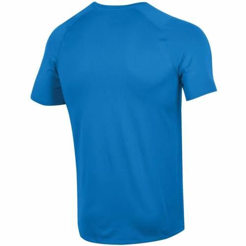 アンダーアーマー UNDER ARMOUR サイドライン パフォーマンス Tシャツ 青 ブルー 【 BLUE UNDER ARMOUR UCLA BRUINS FOOTBALL SIDELINE RAID PERFORMANCE TSHIRT 】 メンズファッション トップス Tシャツ カットソ