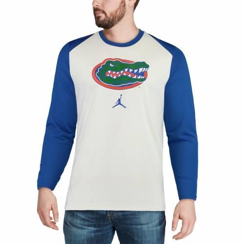 JORDAN BRAND フロリダ バスケットボール エリート パフォーマンス スリーブ Tシャツ 白 ホワイト メンズファッション トップス カットソー メンズ 【 Florida Gators On-court Basketball Elite Performan