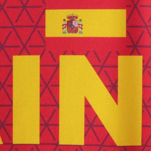 OUTERSTUFF チーム Tシャツ 赤 レッド 【 TEAM RED OUTERSTUFF SPAIN NATIONAL FEDERATION TSHIRT 】 メンズファッション トップス Tシャツ カットソー