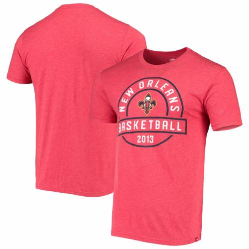 SPORTIQE Tシャツ 【 NEW ORLEANS PELICANS COMFORT TRIBLEND TSHIRT GRAY RED 】 メンズファッション トップス カットソー 送料無料