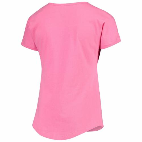 OUTERSTUFF チーム 子供用 サマー Tシャツ ピンク キッズ ベビー マタニティ トップス ジュニア 【 Team Usa Girls Youth 2020 Summer Olympics Retro Tokyo T-shirt - Pink 】 Pink