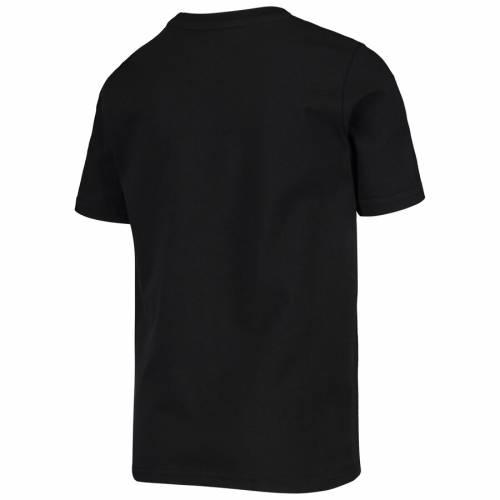 ミッチェル&ネス MITCHELL & NESS スパーズ 子供用 Tシャツ 黒 ブラック キッズ ベビー マタニティ トップス ジュニア 【 San Antonio Spurs Mitchell And Ness Youth Hardwood Classics T-shirt - Black 】 Black