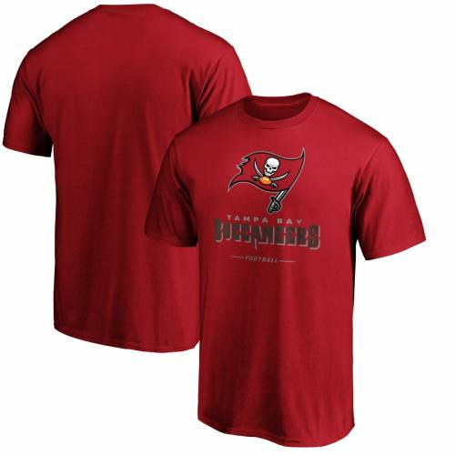 NFL PRO LINE BY FANATICS BRANDED バッカニアーズ プロ チーム Tシャツ 白 ホワイト メンズファッション トップス カットソー メンズ 【 Tampa Bay Buccaneers Nfl Pro Line Team Lockup T-shirt - White 】 Cardinal
