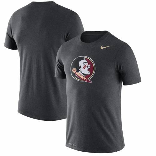 ナイキ NIKE フロリダ スケートボード レジェンド ロゴ パフォーマンス Tシャツ チャコール メンズファッション トップス カットソー メンズ 【 Florida State Seminoles Legend Logo Performance T-shirt