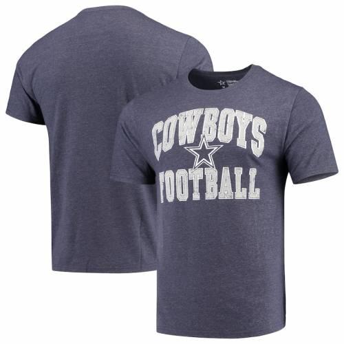 DALLAS COWBOYS MERCHANDISE ダラス カウボーイズ Tシャツ 紺 ネイビー メンズファッション トップス カットソー メンズ 【 Dallas Cowboys Raffin Tri-blend T-shirt - Heathered Navy 】 Heathered Navy