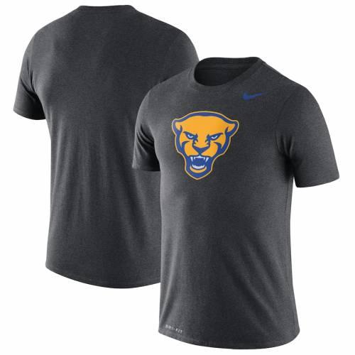 ナイキ NIKE パンサーズ レジェンド ロゴ パフォーマンス Tシャツ チャコール メンズファッション トップス カットソー メンズ 【 Pitt Panthers Legend Logo Performance T-shirt - Heathered Charcoal 】 Hea