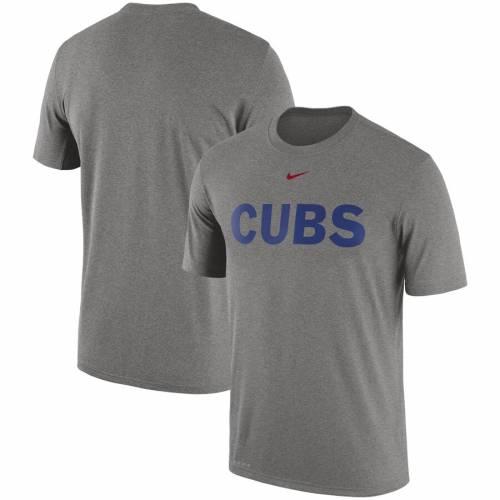 ナイキ NIKE シカゴ カブス レジェンド ロゴ パフォーマンス Tシャツ メンズファッション トップス カットソー メンズ 【 Chicago Cubs Legend Primary Logo Performance T-shirt - Royal 】 Heather Gray