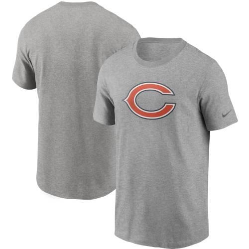 ナイキ NIKE シカゴ ベアーズ ロゴ Tシャツ 灰色 グレー グレイ メンズファッション トップス カットソー メンズ 【 Chicago Bears Primary Logo T-shirt - Heathered Gray 】 Heather Gray