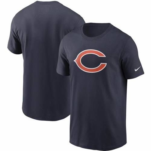 ナイキ NIKE シカゴ ベアーズ ロゴ Tシャツ 灰色 グレー グレイ メンズファッション トップス カットソー メンズ 【 Chicago Bears Primary Logo T-shirt - Heathered Gray 】 Navy