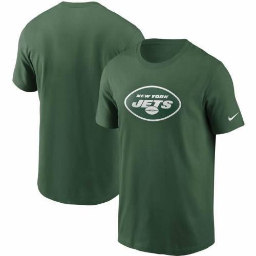 ナイキ NIKE ジェッツ ロゴ Tシャツ 灰色 グレー グレイ メンズファッション トップス カットソー メンズ 【 New York Jets Primary Logo T-shirt - Heathered Gray 】 Green