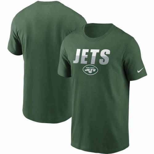 ナイキ NIKE ジェッツ Tシャツ 白 ホワイト メンズファッション トップス カットソー メンズ 【 New York Jets Split T-shirt - White 】 Green