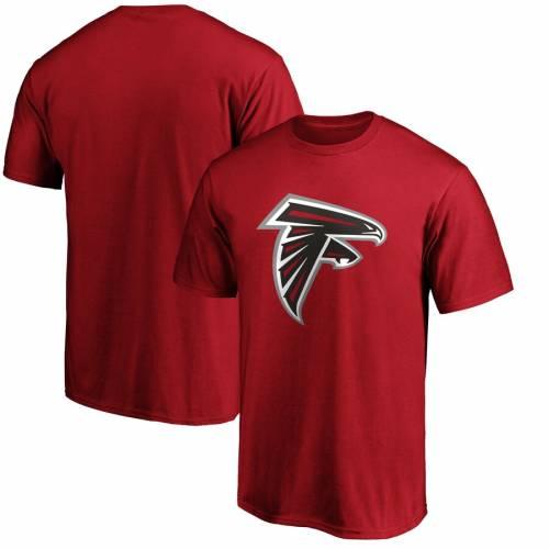 NFL PRO LINE BY FANATICS BRANDED アトランタ ファルコンズ ロゴ Tシャツ 赤 レッド メンズファッション トップス カットソー メンズ 【 Atlanta Falcons Primary Logo T-shirt - Red 】 Cardinal