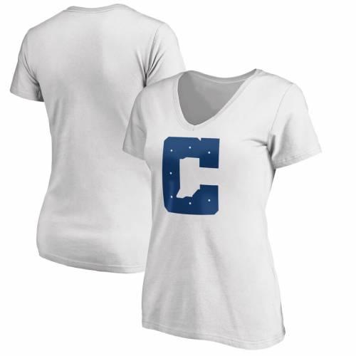 NFL PRO LINE BY FANATICS BRANDED インディアナポリス コルツ レディース ロゴ ブイネック Tシャツ ヘザー 灰色 グレー グレイ レディースファッション トップス カットソー 【 Indianapolis Colts Wome