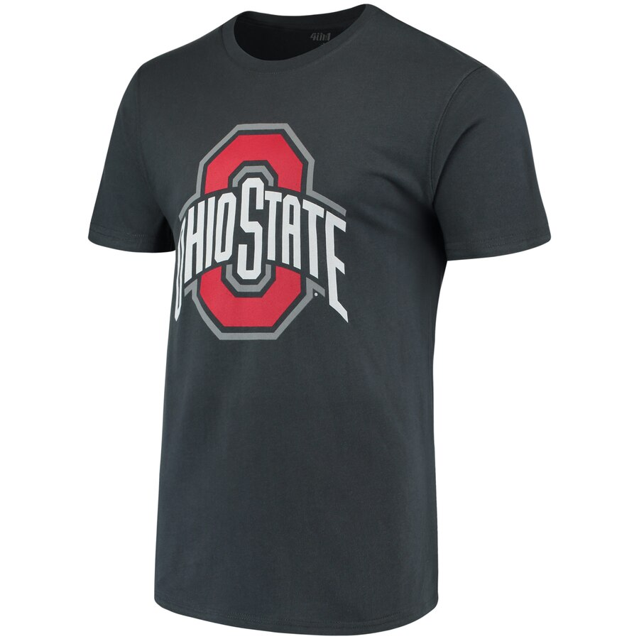 Ohio State University Buckeyes Men/'s Medium Shirt Tee Black Short Sleeve