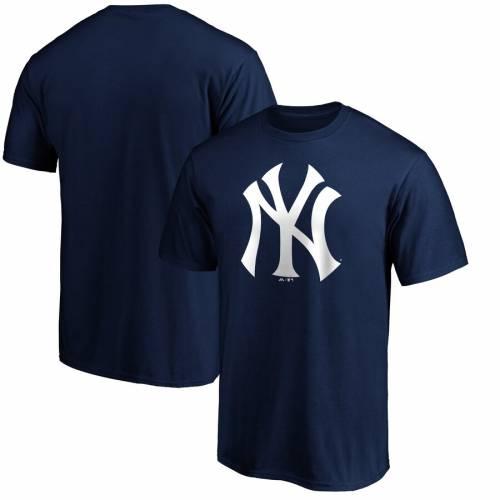 スポーツブランド カジュアル ファッション トップス 半袖 ファナティクス FANATICS BRANDED ヤンキース ロゴ LOGO メンズファッション NAVY 注目ブランド 新着セール PRIMARY カットソー TSHIRT Tシャツ ニューヨーク 紺色 ネイビー