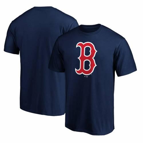 スポーツブランド カジュアル ファッション トップス 半袖 ファナティクス FANATICS BRANDED SALE開催中 ボストン 赤 販売 レッド ロゴ レッドソックス LOGO NAVY カットソー PRIMARY TSHIRT ネイビー 紺色 Tシャツ RED メンズファッション