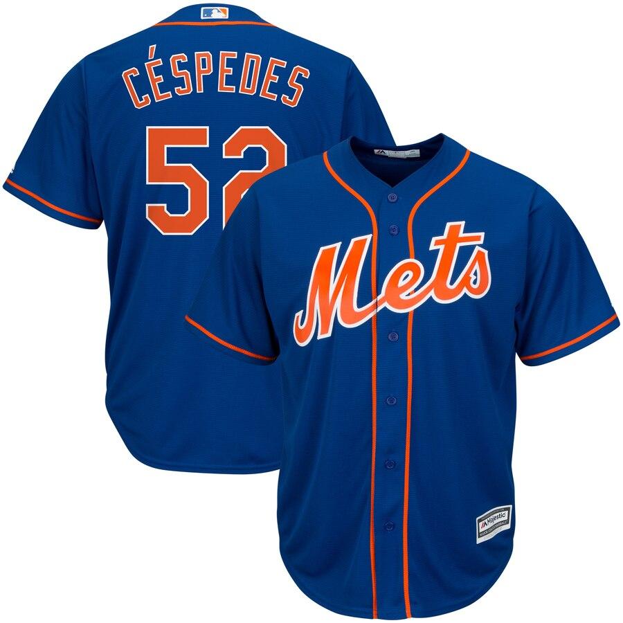 マジェスティック MAJESTIC メッツ クール ジャージ スポーツ アウトドア 野球 ソフトボール レプリカユニフォーム メンズ 【 Yoenis Cespedes New York Mets Official Cool Base Player Jersey 】 Royal
