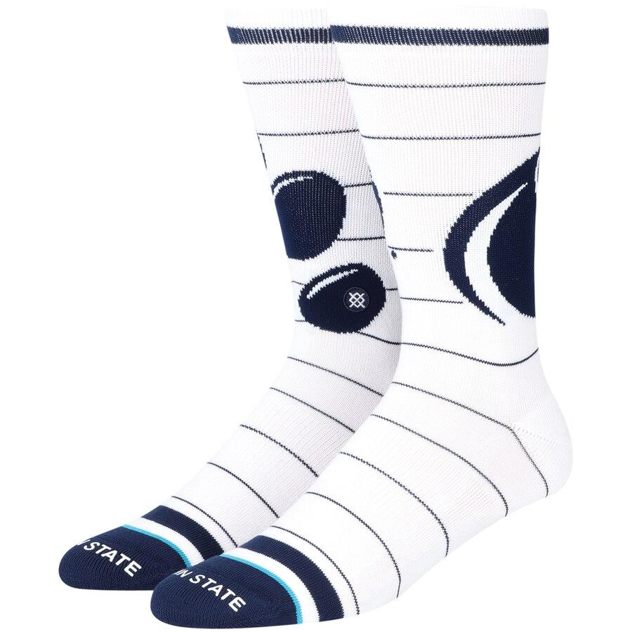 スタンス STANCE スケートボード ライオンズ ソックス 靴下 インナー 下着 ナイトウエア メンズ 下 レッグ 【 Penn State Nittany Lions Local Verbiage Crew Socks 】 Color