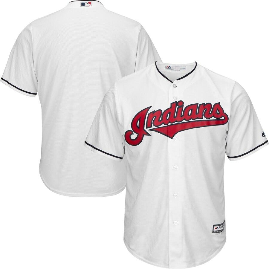 マジェスティック MAJESTIC クリーブランド インディアンズ クール ジャージ 白 ホワイト スポーツ アウトドア 野球 ソフトボール レプリカユニフォーム メンズ 【 Cleveland Indians Official Coo