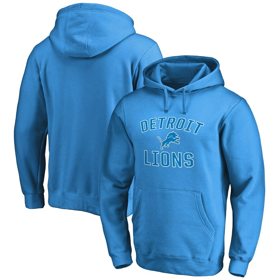 NFL PRO LINE BY FANATICS BRANDED デトロイト ライオンズ プロ ビクトリー 【 VICTORY DETROIT LIONS ARCH PULLOVER HOODIE BLUE 】 メンズファッション トップス パーカー 送料無料