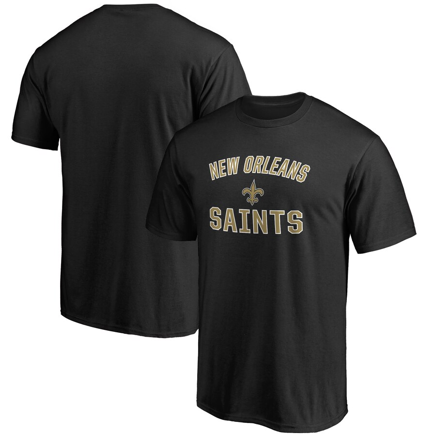 【NeaYearSALE1/1-1/5】NFL PRO LINE BY FANATICS BRANDED セインツ プロ ビクトリー ロゴ Tシャツ & 【 VICTORY NEW ORLEANS SAINTS BIG TALL ARCH LOGO TSHIRT BLACK 】 メンズファッション トップス カットソー 送料無料