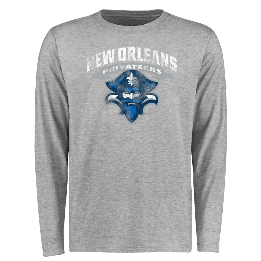 【NeaYearSALE1/1-1/5】FANATICS BRANDED クラシック スリーブ Tシャツ & 【 SLEEVE NEW ORLEANS PRIVATEERS BIG TALL CLASSIC PRIMARY LONG TSHIRT ASH 】 メンズファッション トップス カットソー 送料無料