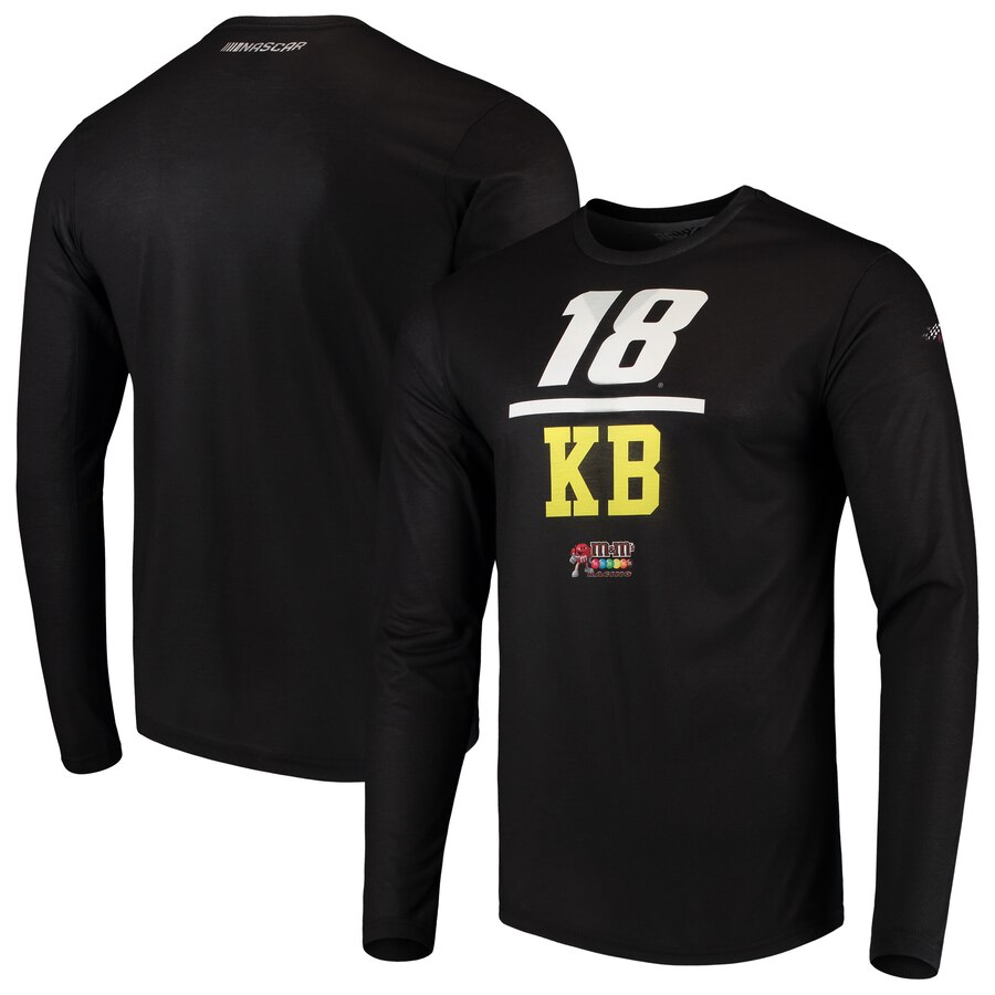 【NeaYearSALE1/1-1/5】SMI PROPERTIES スリーブ Tシャツ 【 SLEEVE KYLE BUSCH SUBLIMATED LONG TSHIRT BLACK 】 メンズファッション トップス カットソー 送料無料