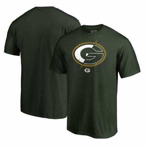 NFL PRO LINE BY FANATICS BRANDED 緑 グリーン パッカーズ プロ Tシャツ & 【 GREEN BAY PACKERS XRAY BIG TALL TSHIRT 】 メンズファッション トップス カットソー 送料無料