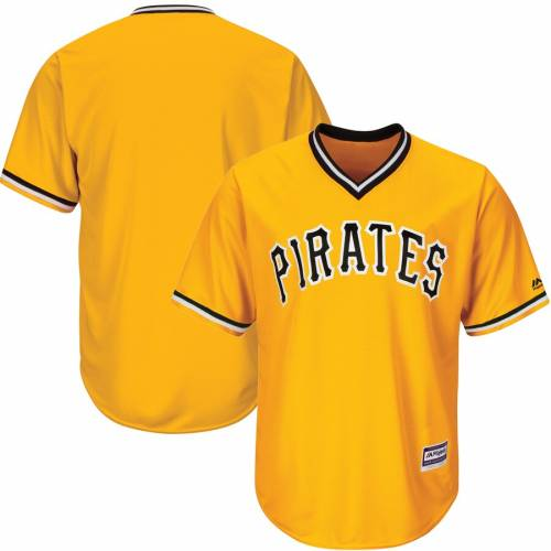マジェスティック MAJESTIC ピッツバーグ 海賊団 クール ジャージ 白 ホワイト スポーツ アウトドア 野球 ソフトボール レプリカユニフォーム メンズ 【 Pittsburgh Pirates Official Cool Base Jersey