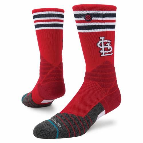 スタンス STANCE カーディナルス ダイヤモンド プロ ソックス 靴下 St. インナー 下着 ナイトウエア メンズ 下 レッグ 【 St. Louis Cardinals Diamond Pro Crew Socks 】 Color