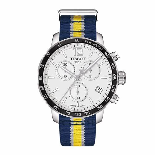 TISSOT インディアナ ペイサーズ スペシャル ウォッチ 時計 【 SPECIAL WATCH TISSOT INDIANA PACERS QUICKSTER EDITION COLOR 】 腕時計 メンズ腕時計